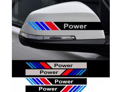 Стикери M POWER за огледала