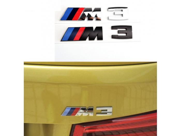 M3 емблема за заден капак на BMW