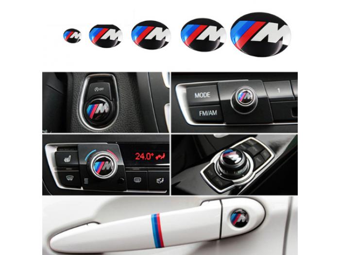 3D M power емблеми за аудио, бутони, дръжки, 11мм, 15мм, 18мм,  20мм, 25мм