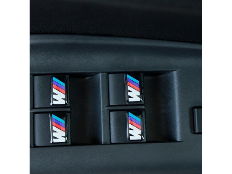 3 D емблеми M POWER  за волани, джанти, джойстик, интериор и екстериор
